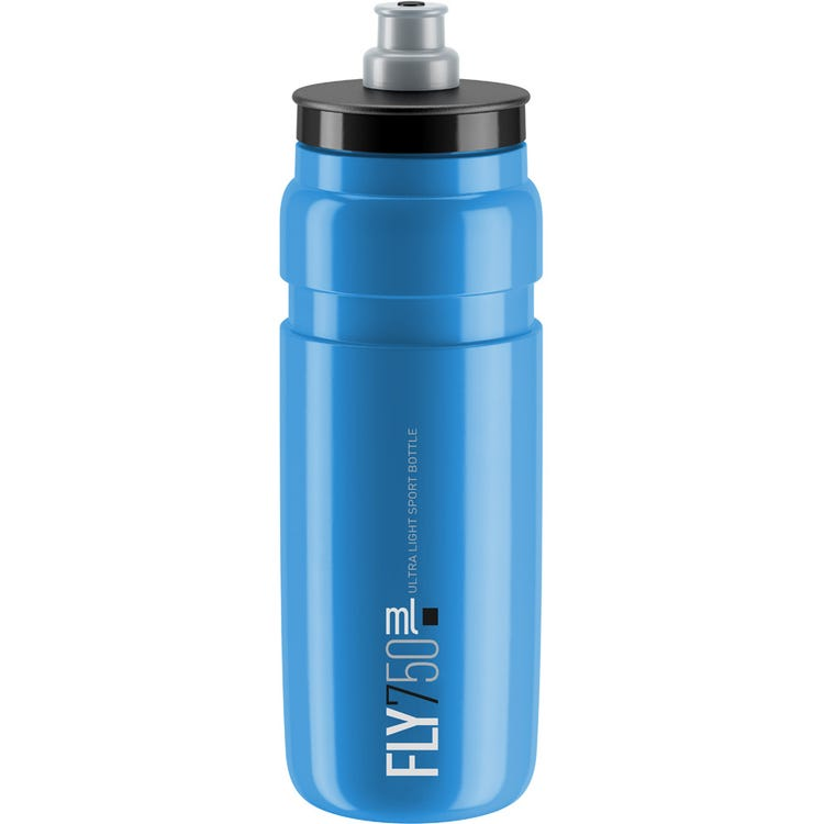 Elite Fly, blue with black logo, 750 ml