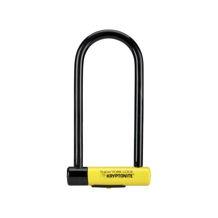 Kryptonite New York Long Shackle U-Lock Sold Secure Gold