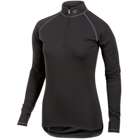 Women's Transfer zip neck LS Baselayer