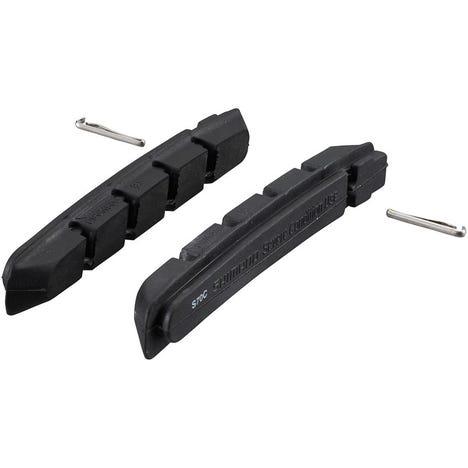 S70C cartridge brake shoe inserts with fixing pin, pair