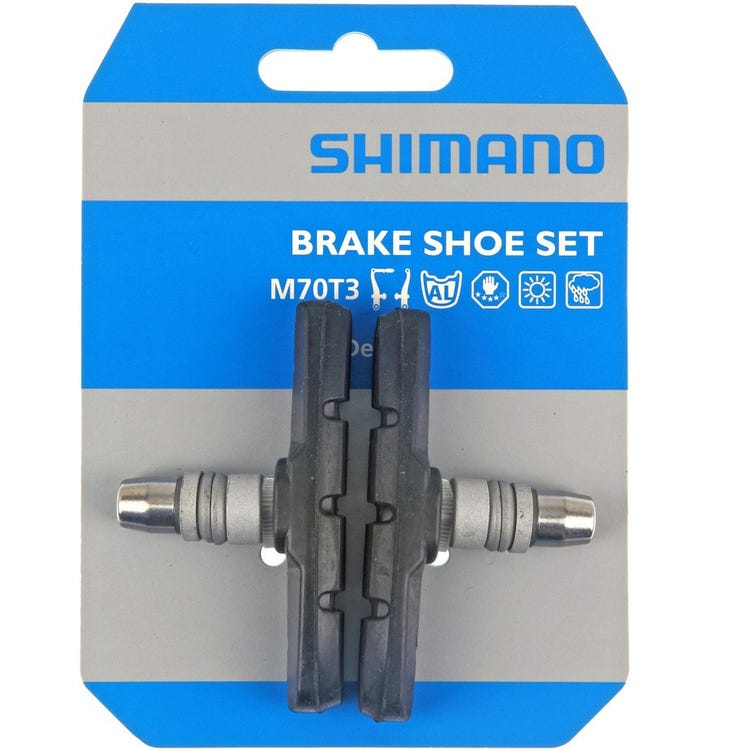 Shimano Deore M600 (for LX / Deore / Alivio V-brake) one-piece brake blocks