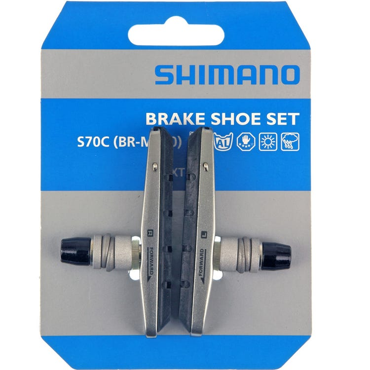 Shimano Spares BR-M770/ M590 S70C cartridge brake shoes, pair