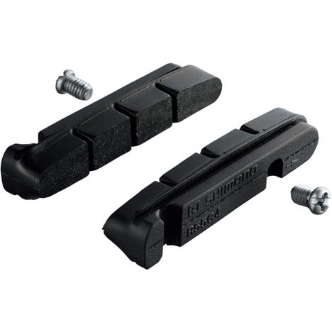 BR-7700 cartridge-type brake shoes inserts R55C+1 mm and fixing bolts, pair