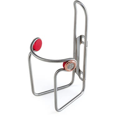 Ciussi Inox bottle cage - tubular stainless steel