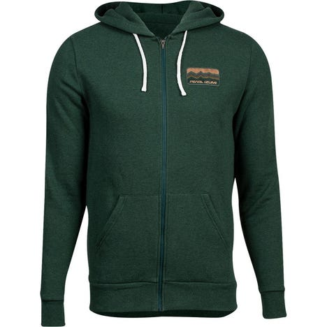 PEARL iZUMi Men's Fleece Zip-Up Hoody