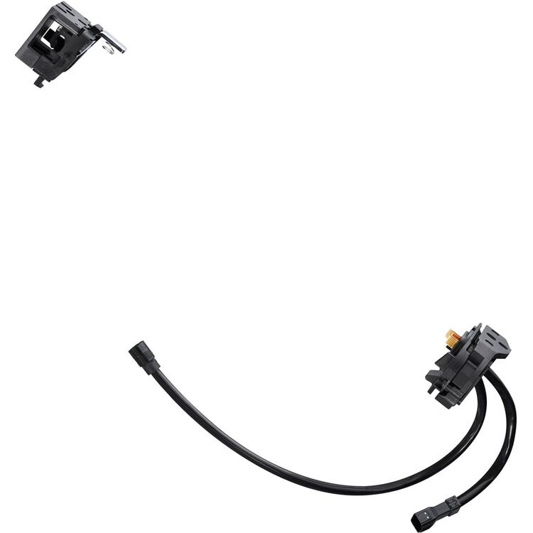 Shimano STEPS BM-E8030 Steps battery mount key type, with battery cable and EW-CP100 cable