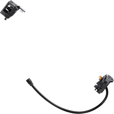 BM-E8030 Steps battery mount for BT-E8035, with key type, and battery cable
