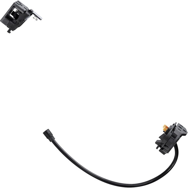 Shimano STEPS BM-E8030 Steps battery mount for BT-E8035, with key type, and battery cable