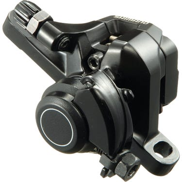 BR-R317 calliper, without rotor, IS or post mount, front, black