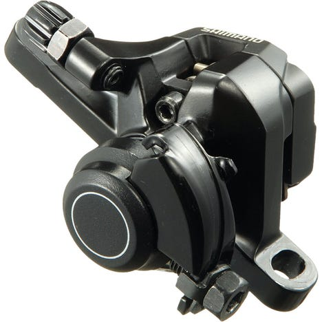 Shimano Sora BR-R317 calliper, without rotor, IS or post mount, front, black
