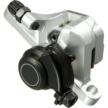 BR-R317 calliper, without rotor, IS or post mount, front, silver