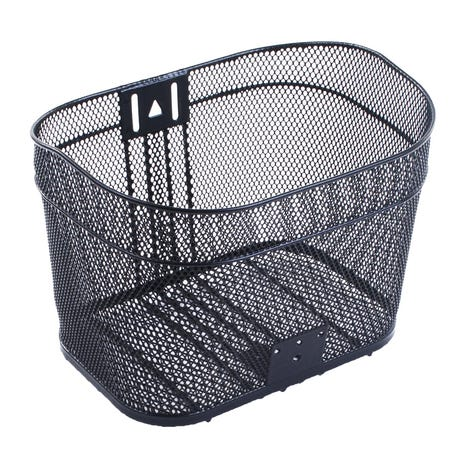 M Part Aalborg mesh metal basket with dropped rear for cable clearance