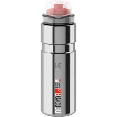 Deboyo Race stainless steel vacuum bottle 550 ml silver - 12 hours thermal