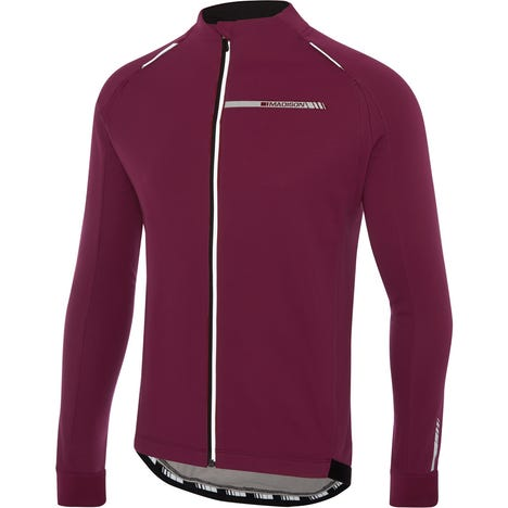 Sportive men's softshell jacket