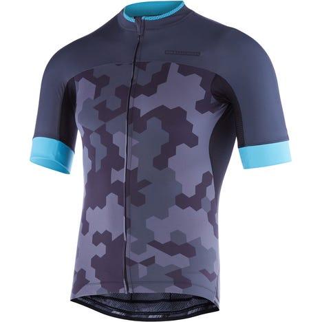 RoadRace Apex men's short sleeve jersey, hex camo
