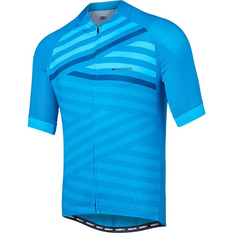 Madison Sportive men's short sleeve jersey, geo stripes
