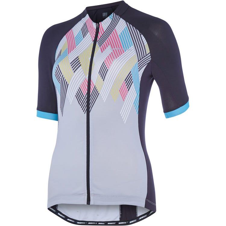 Madison Sportive women's short sleeve jersey, crosshatch