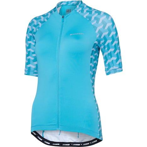 Madison Sportive women's short sleeve jersey, geo camo