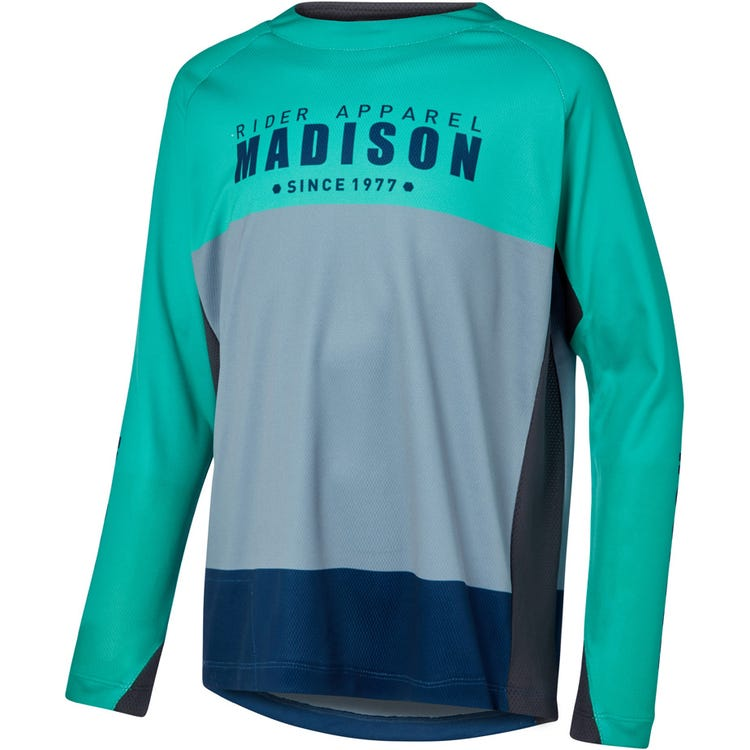 Madison Alpine youth long sleeve jersey