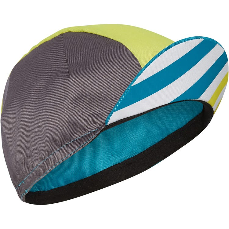 Madison Sportive poly cotton cap, block stripe