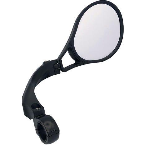 E-bike E13 appoved mirror, adjustable, right handlebar clamp fitting