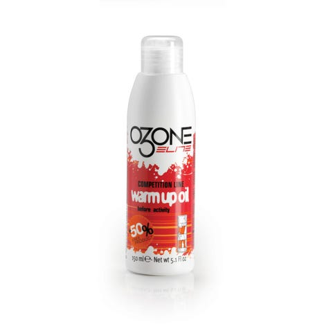 O3one Pre-Competition warm-up oil spray 150 ml bottle