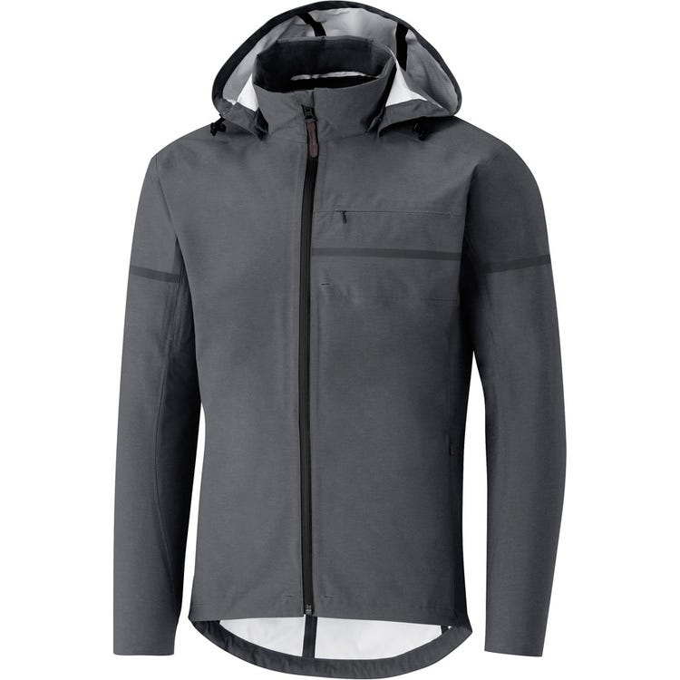 Shimano Clothing Men's Transit Hardshell Jacket