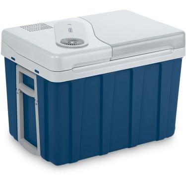 Mobicool MQ40W AC/DC 39litre thermoelectric coolbox, metallic blue,12/230 V