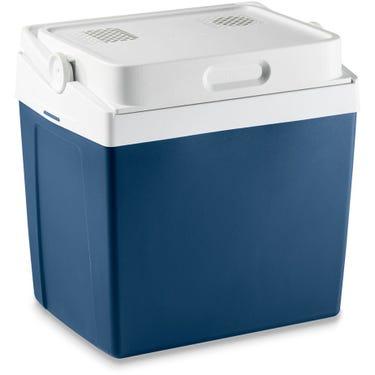 Mobicool MV30 AC/DC 29litre thermoelectric coolbox, metallic blue, 12/230v