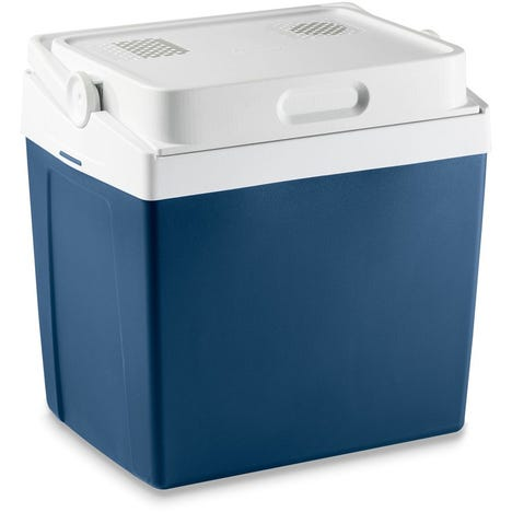 Mobicool MV30 AC/DC 29litre thermoelectric coolbox, metallic blue, 12/230v