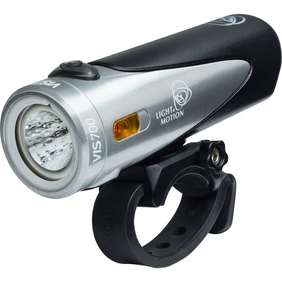 Light and Motion VIS 700 - Tundra (Steel/Black) Front Light