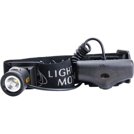 VIS 360 Pro Plus (Headstrap + Helmet Mount) Light System
