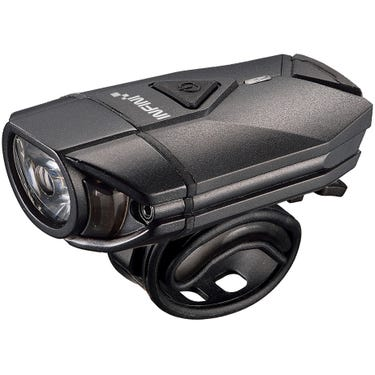 Super Lava 300 lumen USB front light with bar and helmet brackets