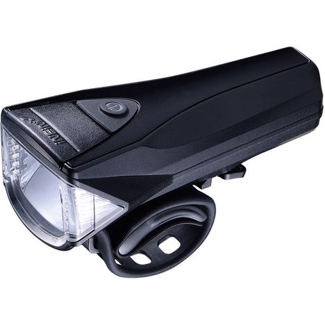 Saturn 3 watt / 300 lumen front light, meets German standard, black