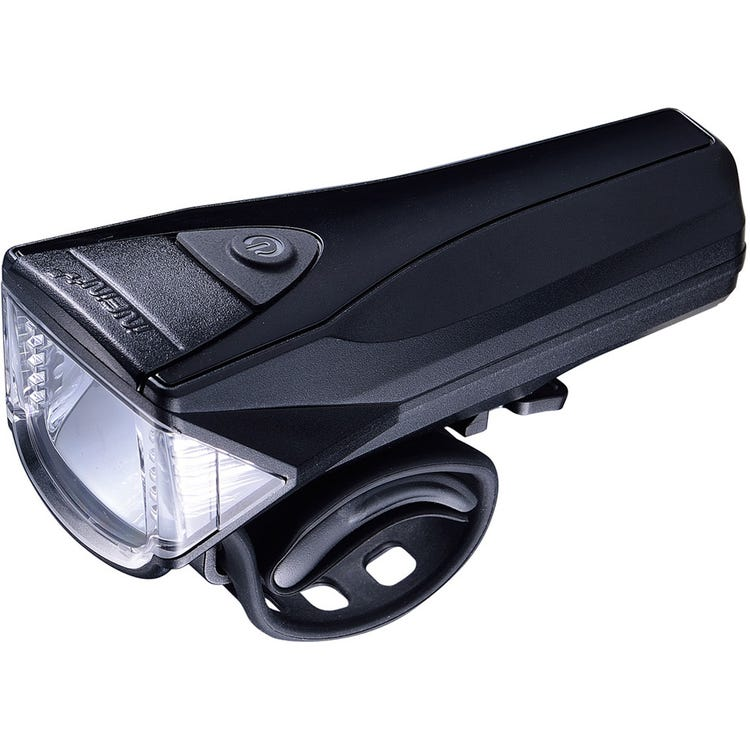 Infini Saturn 3 watt / 300 lumen front light, meets German standard, black