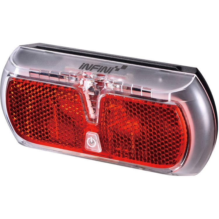 Infini Apollo rear carrier light, AA battery powered