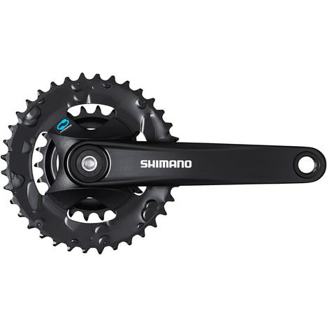 FC-M315 chainset 36/22, 7/8-speed, black, 170 mm, for boost, without chainguard