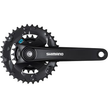 FC-M315 chainset 36/22, 7/8-speed, black, 170 mm, without chainguard