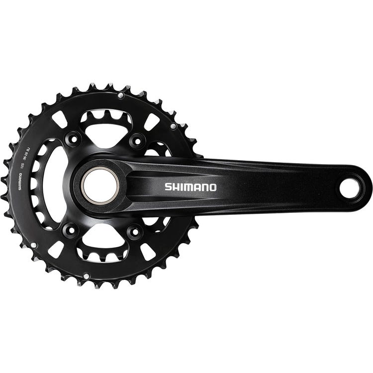 Shimano Deore FC-MT610 chainset, 12-speed, 48.8 mm chainline, 36/26T