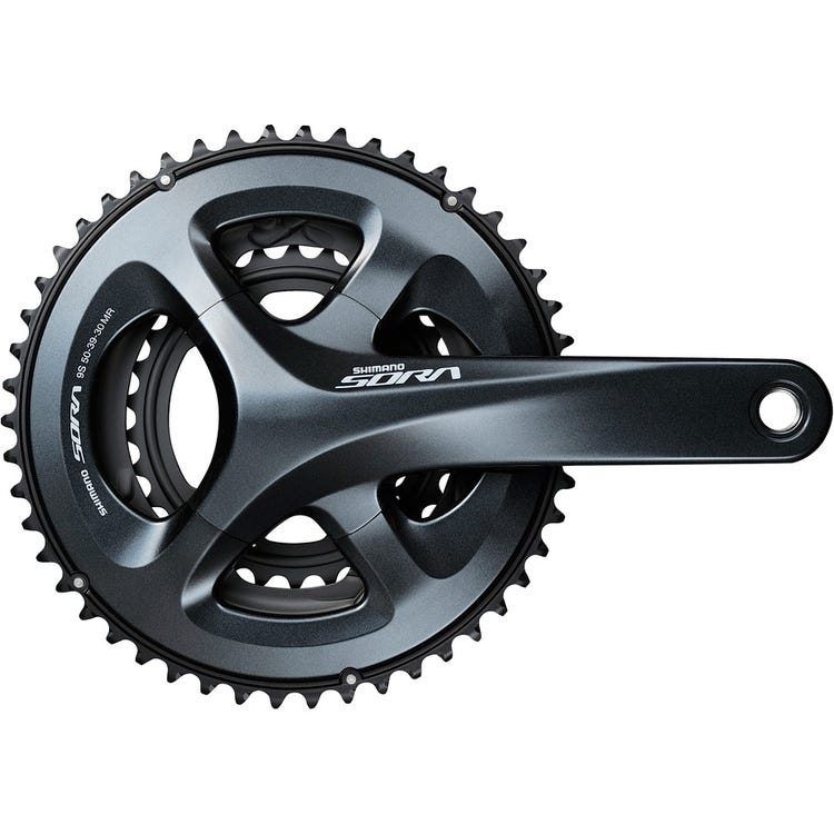 Shimano Sora FC-R3030 Sora 9-speed, 50 / 39 / 30, triple
