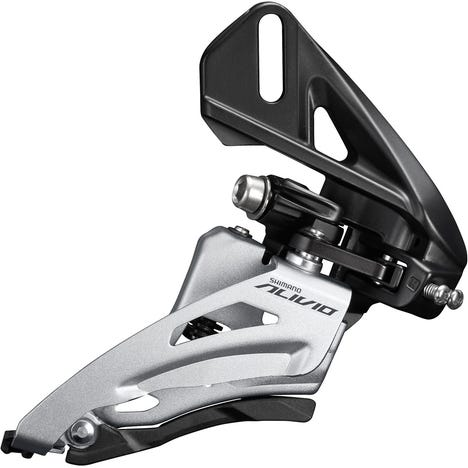 FD-M4020 Alivio double front derailleur, direct fit side swing, chainline 48.8mm