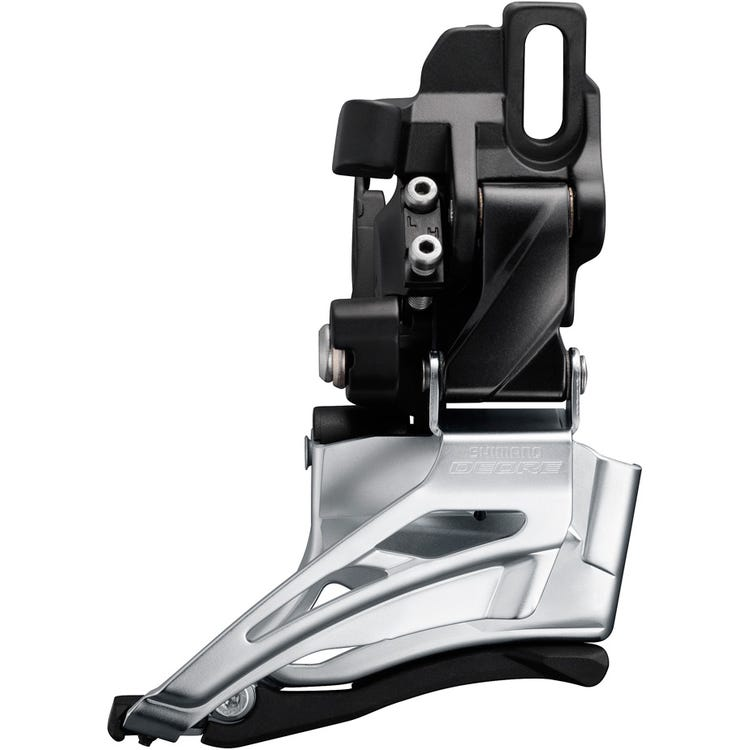 Shimano Deore Deore M6025-D double front derailleur, direct mount, down swing, down pull