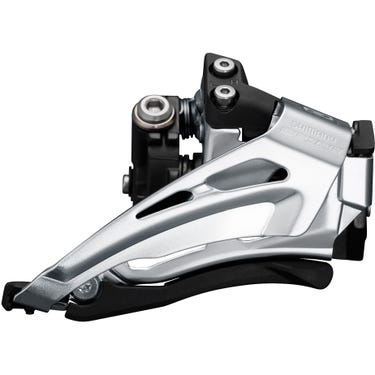 Deore M6025-L double front derailleur, low clamp, top swing, down pull