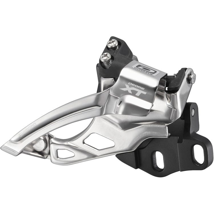 Shimano Deore XT FD-M785 XT 10-speed double front derailleur, E2-type for 38-40T, dual-pull