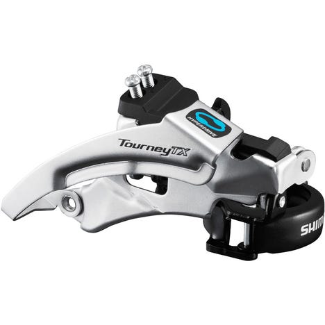 FD-TX800 Tourney TX front derailleur, top swing, dual pull, for 42/48T, 66-69