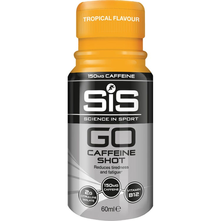 Science In Sport GO Caffeine Shot - Tropical - 60 ml