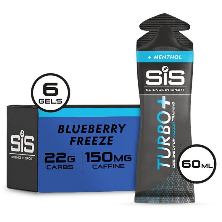 Science In Sport Turbo+ Energy Gel Multipack - 6 gel