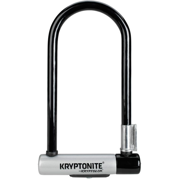 Kryptonite Kryptolok Standard U-Lock with Flexframe bracket Sold Secure Gold