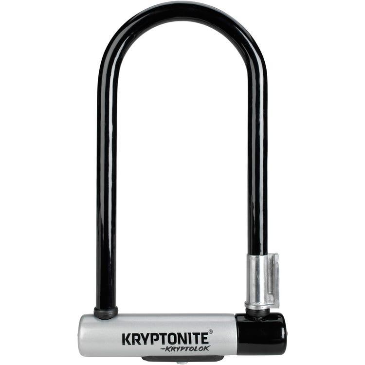 Kryptonite Kryptolok Standard U-Lock With With Flexframe Bracket Sold Secure Gold
