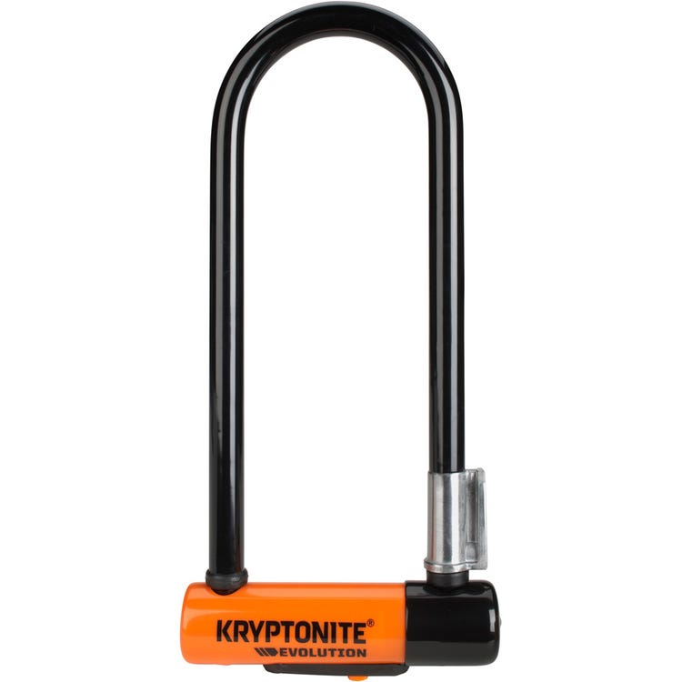 Kryptonite Evolution Mini-9 U-Lock with Flexframe bracket Sold Secure Gold